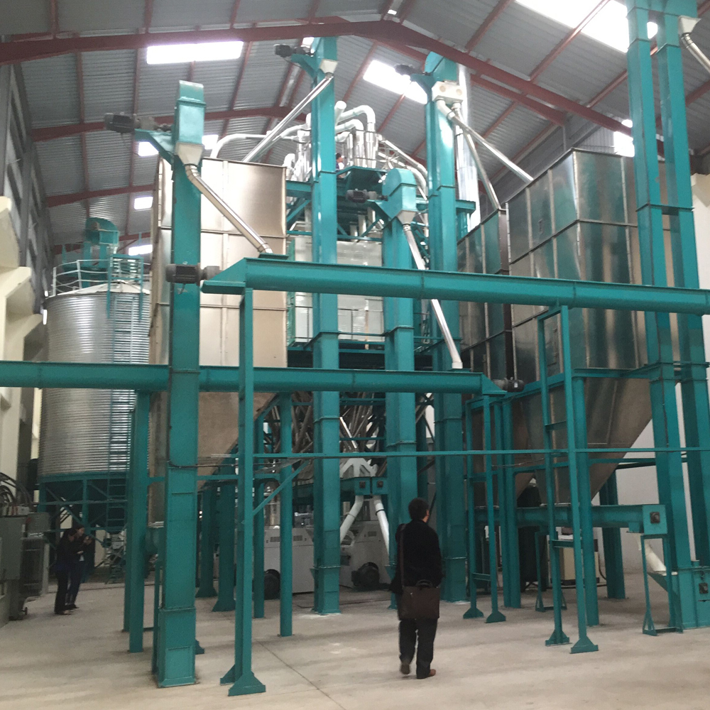 support for maize milling machine